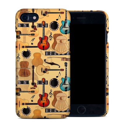 Apple iPhone 7 Clip Case - Guitar Collage