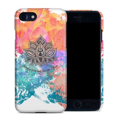Apple iPhone 7 Clip Case - Happy Lotus