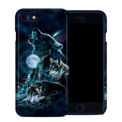 Apple iPhone 7 Clip Case - Howling
