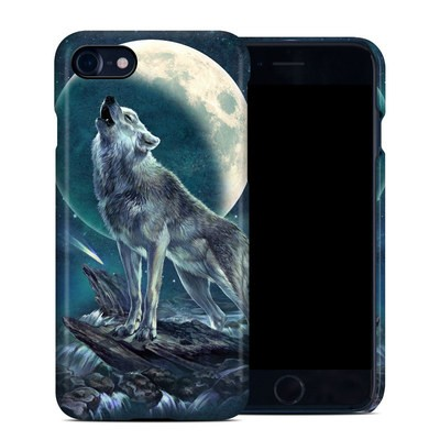 Apple iPhone 7 Clip Case - Howling Moon Soloist