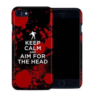 Apple iPhone 7 Clip Case - Keep Calm - Zombie