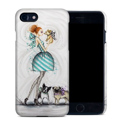 Apple iPhone 7 Clip Case - A Kiss for Dot