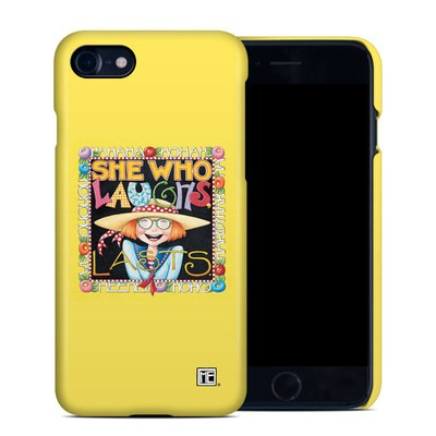 Apple iPhone 7 Clip Case - She Who Laughs