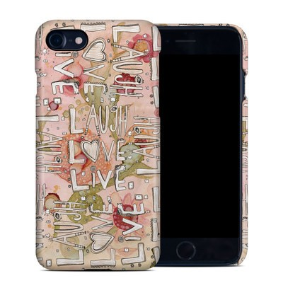 Apple iPhone 7 Clip Case - Love Floral