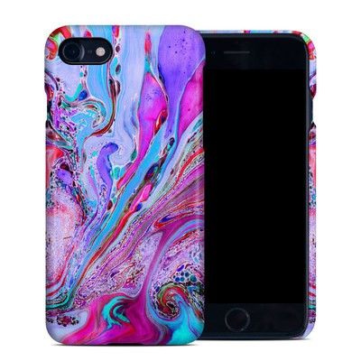 Apple iPhone 7 Clip Case - Marbled Lustre