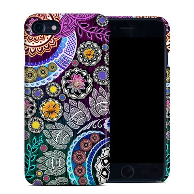 Apple iPhone 7 Clip Case - Mehndi Garden