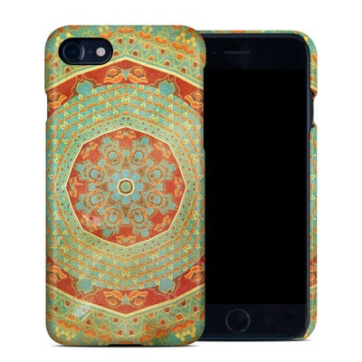 Apple iPhone 7 Clip Case - Mandala Citrus