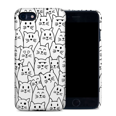 Apple iPhone 7 Clip Case - Moody Cats