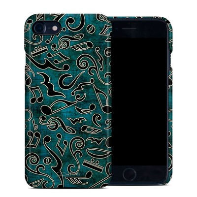 Apple iPhone 7 Clip Case - Music Notes