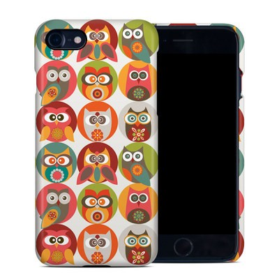 Apple iPhone 7 Clip Case - Owls Family