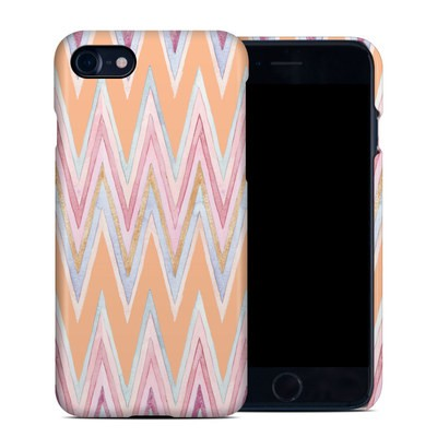 Apple iPhone 7 Clip Case - Pastel Chevron