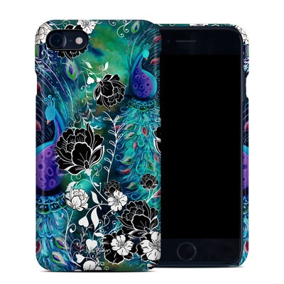 Apple iPhone 7 Clip Case - Peacock Garden
