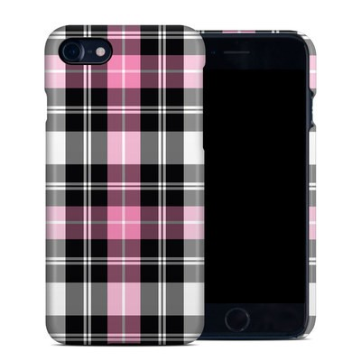 Apple iPhone 7 Clip Case - Pink Plaid