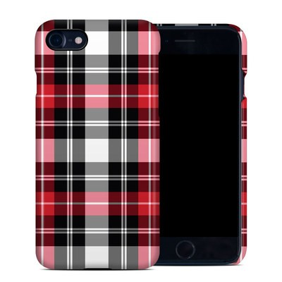 Apple iPhone 7 Clip Case - Red Plaid