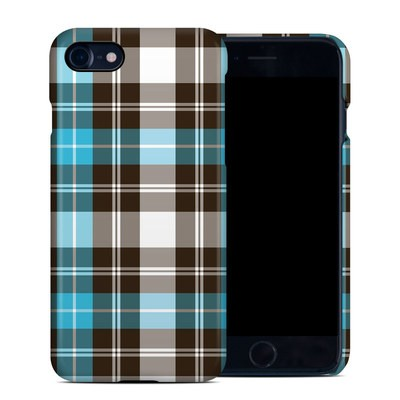 Apple iPhone 7 Clip Case - Turquoise Plaid