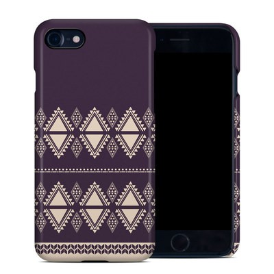 Apple iPhone 7 Clip Case - Plum Cozy