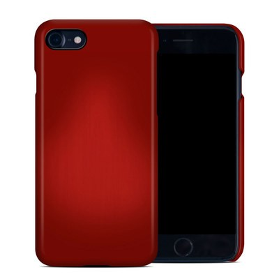 Apple iPhone 7 Clip Case - Red Burst