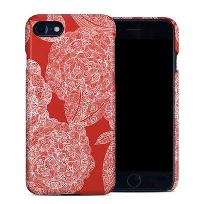 Apple iPhone 7 Clip Case - Red Dahlias
