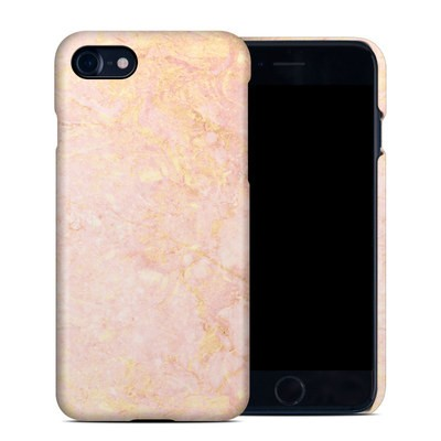 Apple iPhone 7 Clip Case - Rose Gold Marble