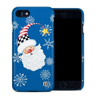 Apple iPhone 7 Clip Case - Santa Snowflake