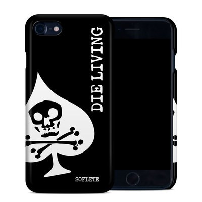 Apple iPhone 7 Clip Case - SOFLETE Die Living Crop