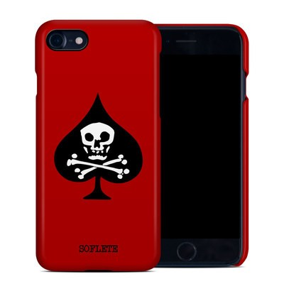 Apple iPhone 7 Clip Case - SOFLETE Red Logo