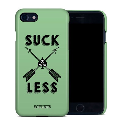 Apple iPhone 7 Clip Case - SOFLETE Suck Less Arrows Mint