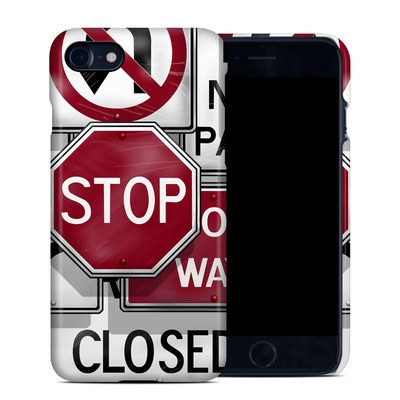 Apple iPhone 7 Clip Case - Signs