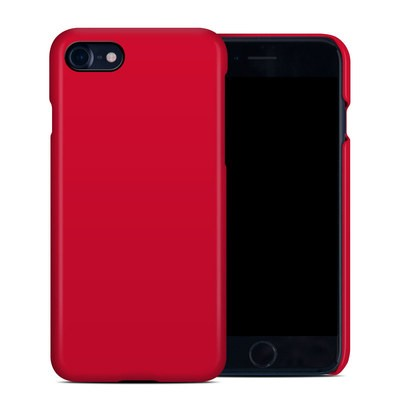 Apple iPhone 7 Clip Case - Solid State Red