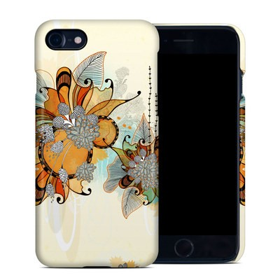 Apple iPhone 7 Clip Case - Sunset Flowers