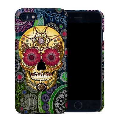 Apple iPhone 7 Clip Case - Sugar Skull Paisley