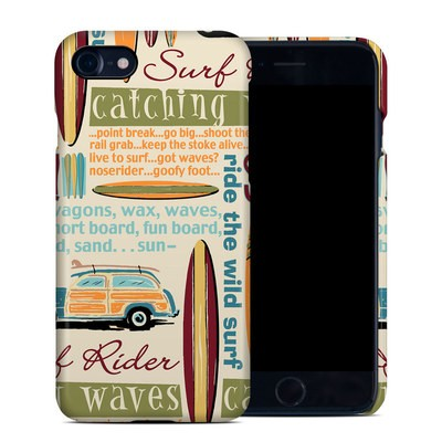 Apple iPhone 7 Clip Case - Surf Words