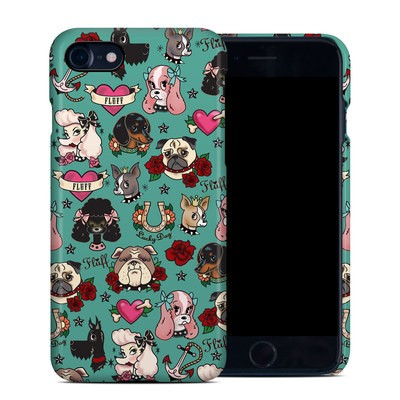 Apple iPhone 7 Clip Case - Tattoo Dogs