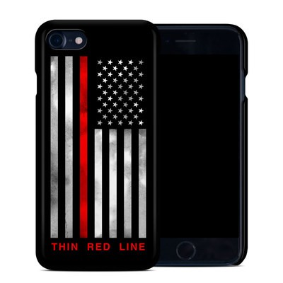 Apple iPhone 7 Clip Case - Thin Red Line