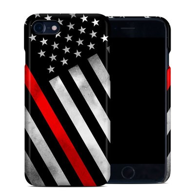Apple iPhone 7 Clip Case - Thin Red Line Hero