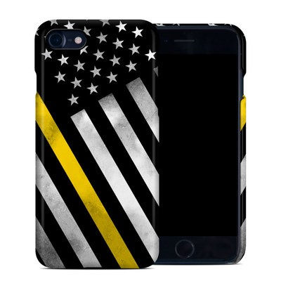 Apple iPhone 7 Clip Case - Thin Yellow Line Hero