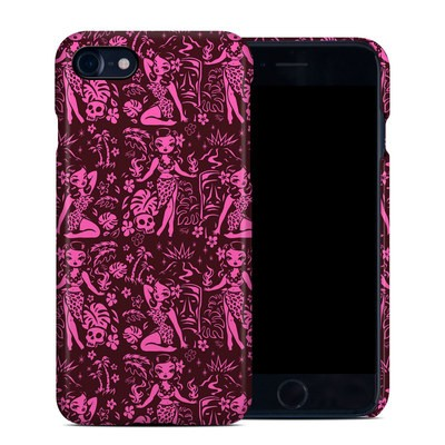 Apple iPhone 7 Clip Case - Tiki Temptress Hotpink