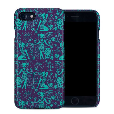 Apple iPhone 7 Clip Case - Tiki Temptress Teal