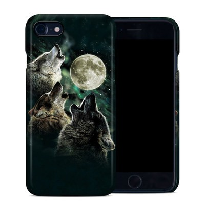 Apple iPhone 7 Clip Case - Three Wolf Moon