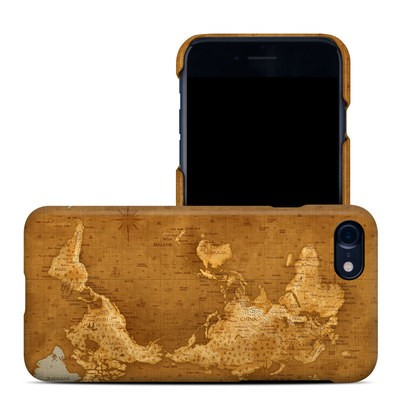 Apple iPhone 7 Clip Case - Upside Down Map