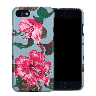 Apple iPhone 7 Clip Case - Vintage Hibiscus