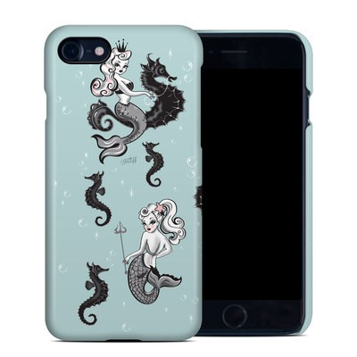Apple iPhone 7 Clip Case - Vintage Mermaid