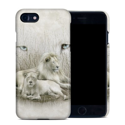 Apple iPhone 7 Clip Case - White Lion