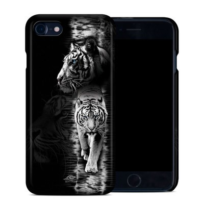 Apple iPhone 7 Clip Case - White Tiger