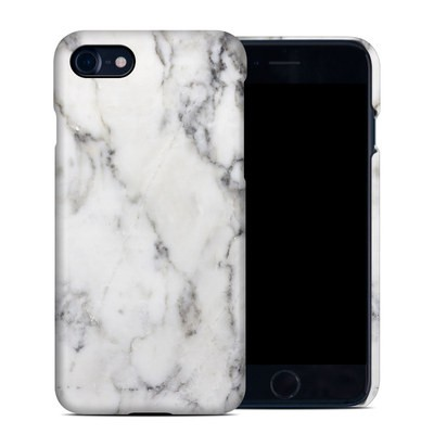 Apple iPhone 7 Clip Case - White Marble