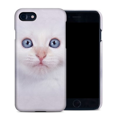 Apple iPhone 7 Clip Case - White Kitty