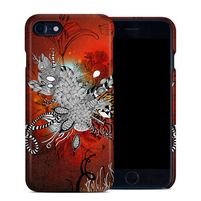 Apple iPhone 7 Clip Case - Wild Lilly