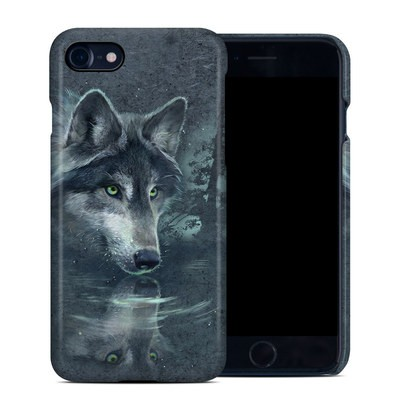 Apple iPhone 7 Clip Case - Wolf Reflection