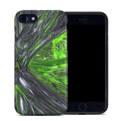 Apple iPhone 7 Hybrid Case - Emerald Abstract