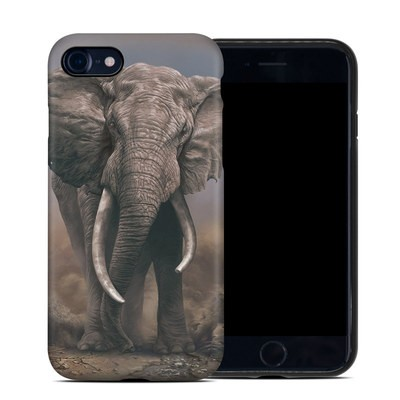 Apple iPhone 7 Hybrid Case - African Elephant